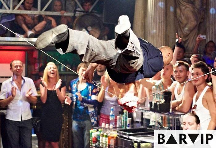 фото - шоу бармен Сергей
